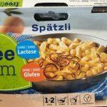 Spätzli sans gluten et sans lactose