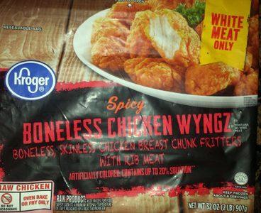 Spicy Boneless Chicken Wyngz