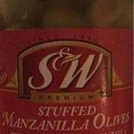 Stuffed manzanilla olives