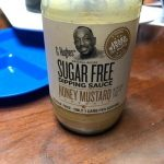Sugar free honey mustard sauce
