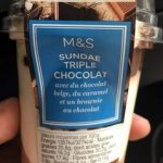 Sundae Triple Chocolat avec du Chocolat Belge