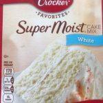 Super Moist Cake Mix White