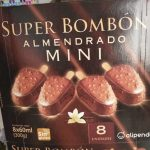 Super bombón almendrado mini