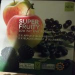 Super fruity low fat live yogurt