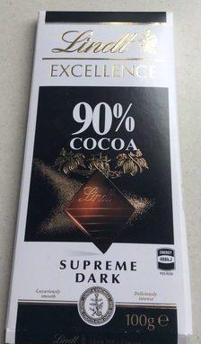 Supreme dark 90% cocoa
