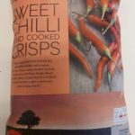 Sweet chilli hand cooked crisps