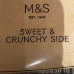 Sweet & crunchy side