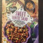 Sweet lentille salad