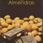 Tableta de chocolate negro con almendras 47% cacao