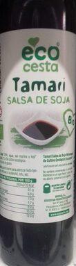 Tamari salsa de soja