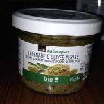 Tapenade olives vertes