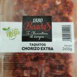 Taquitos chorizo extra