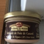Tartina de foie canard pépites figue