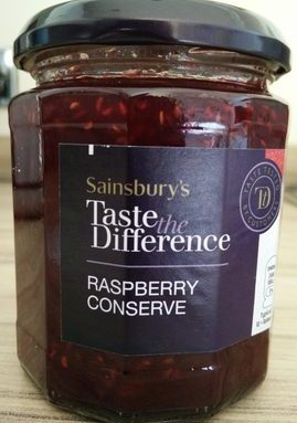 Taste the Difference Raspberry Conserve