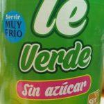 Te verde sin azucar