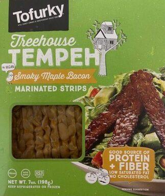 Tempeh smoky maple bacon