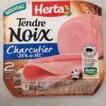 Tendre Noix Charcutier - 25% De Sel