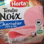 Tendre Noix Charcutier -25% de sel