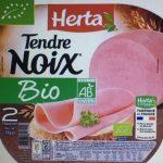 Tendre Noix - Jambon blanc bio