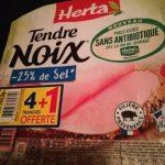 Tendre noix sans antibiotique