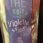 Thé noir aromatisé violette et fleurs