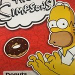 The simpsons donuts