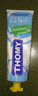 Thomy Mayonnaise 25% matière grasse