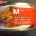 Thon au curry rouge