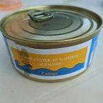 Thon entier au naturel albacore