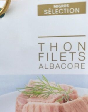 Thon filets Albacore