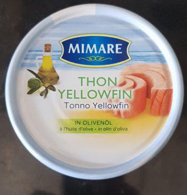 Thon yellowfin