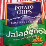 Tims extra thick and crunchy jalapeno potato chips