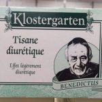 Tisane diurétique effet légèrement diurétique benedictus