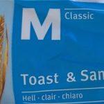 Toast & sandwich- clair