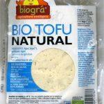 Tofu ecológico Natural