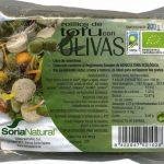 """Tofu ecológico """"Soria Natural"""" En rollitos con olivas"""