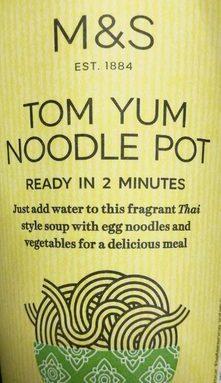 Tom Yum Noodle Pot