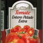 Tomate Entero Pelado Extra