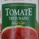 Tomate triturado