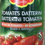 Tomates Datterini au jus de tomates