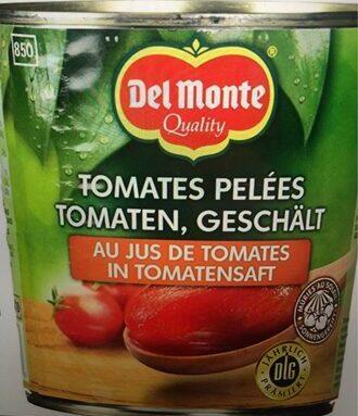 Tomates pelées