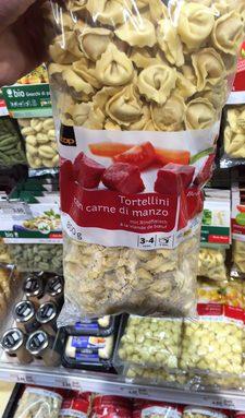 Tortelloni à la viande de boeuf