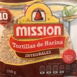 Tortillas de harina integrales