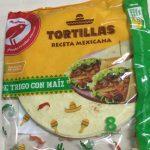Tortillas de trigo con maíz
