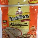 Tortillinas con Mantequilla