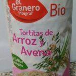 Tortitas Arroz Avena