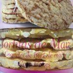Tortitas de maiz - coquetes de Blat de moro