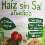 Tortitas de maiz sin sal añadida