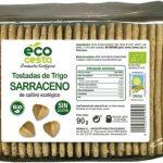 Tostadas de trigo sarraceno