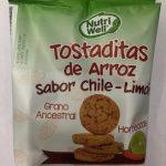 Tostaditas de Arroz sabor chile - Limón